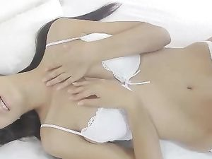 Great Tits And A Tight Cunt On The Solo Toy Sex Babe
