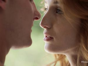 His Redheaded Girlfriend Gives The Best Blowjob Ever