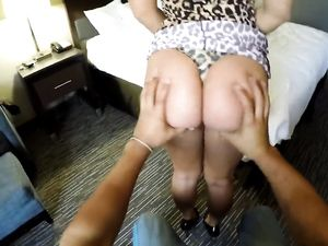 Nasty Riding And A Cum Shot In The Hotel Room