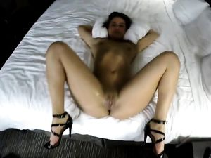 Cum Shot For A Lovely Petite Babe In POV