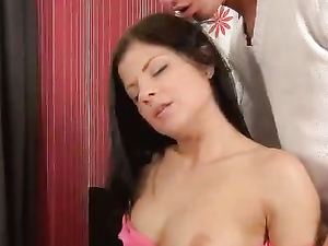Teen Loves Being Drilled By Her Lover's Big Shaft