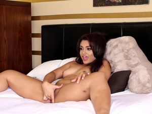 Sexy Brunette Plays With Herself Before Getting Fucked