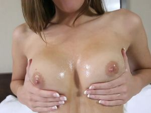 Perfect Perky Boobs On An 18-year-Old Who Loves Sex