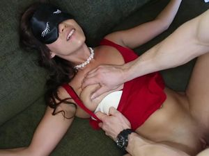 Blindfolded Teen Fucked By A Sexy Big Cock Guy