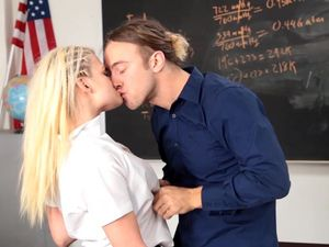 After School Tutoring And Fucking With A Hot Teen