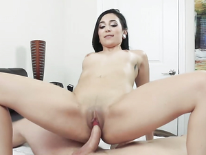 Cock Makes Her Mouth Water And Her Pussy All Wet