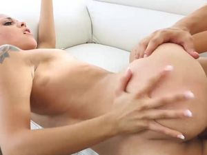 Small tits Tattooed Teen Loves To Get Fucked Hard