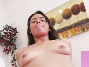 Cumshots Devoured By A Cute Latina Slut
